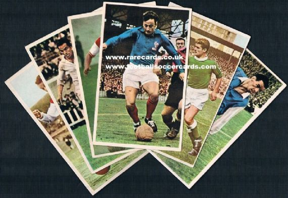 1961 mix 11 Miroir Sprint cards
